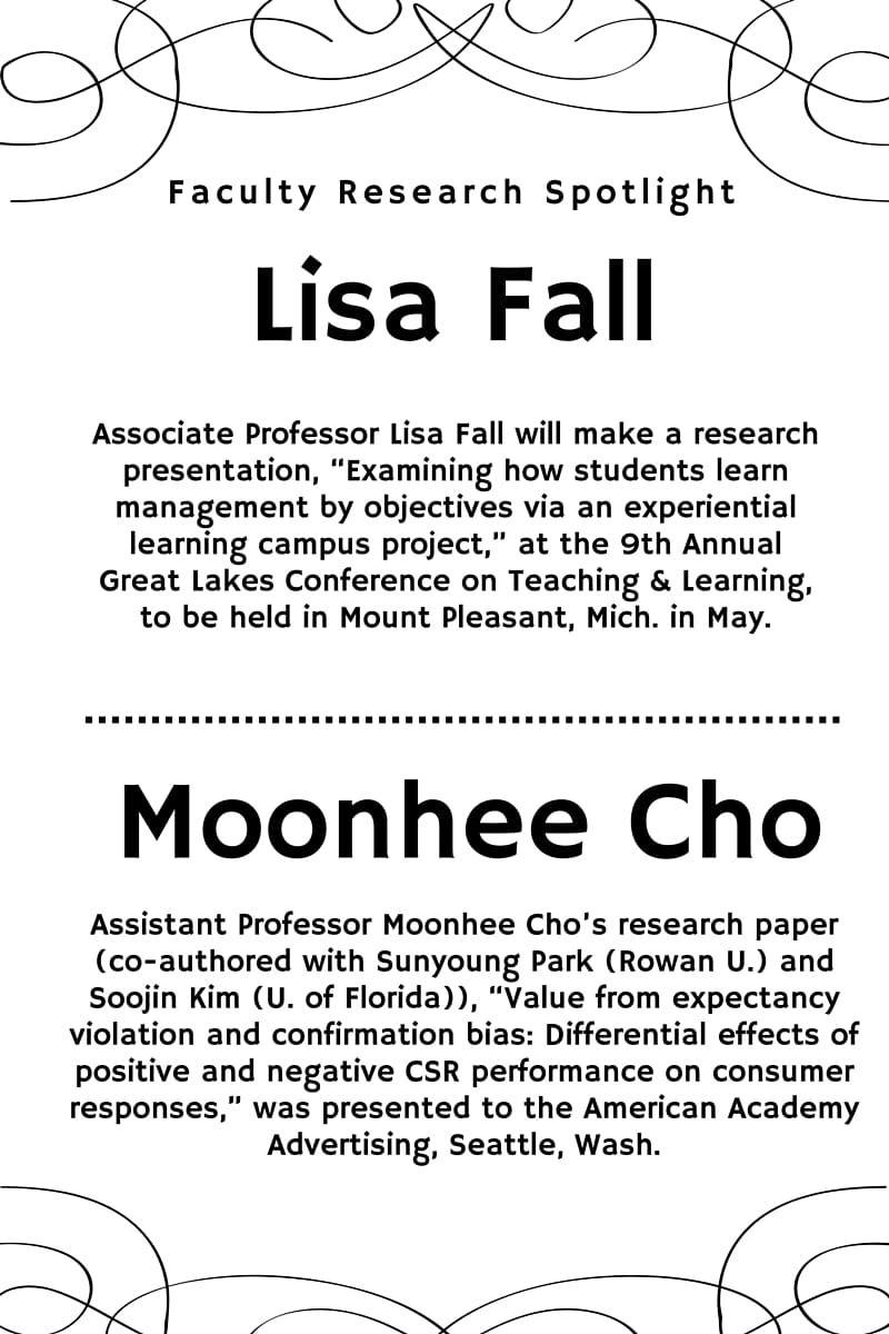 Faculty Research Spotlights